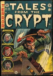Tales From The Crypt 38 1953 Fn 6.0 Golden Age Ec Horror