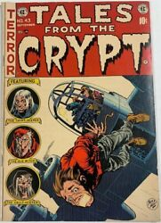 Tales From The Crypt 43 1954 Vg/fn 5.0 Golden Age Ec Horror