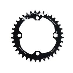 Fifty-fifty 104bcd Narrow Wide Chainring Single Chainring For 9/10/11-speed ...