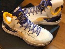 Bbb Zo2 Autographed Shoes Size Us11/eu45 Signed With Box And Case And Certificate