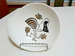 Vintage Good Morning By Royal One Handled Serving Dish Mid-century