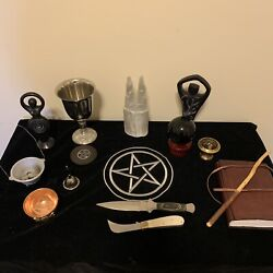 Witchcraft Kit Wicca Altar Starter Kit Wiccan Pagan Witch Kit Witchcraft