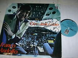 Franco Andolfo Ciao Amici Ciao Austrian Airlines Made In Austria Signed Nm