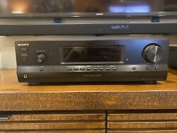 Sony Str-dh100 2-channel Audio Receiver Black 100 Watts Per Channel