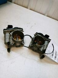 08-13 Infiniti G35 G37 Sedan Landr Throttle Body Set 2 Assemblies Oem Used Test