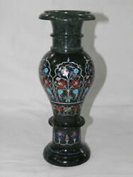 Green Marble Vase Marble Inlay Art Exclusive Collectible Home Decor