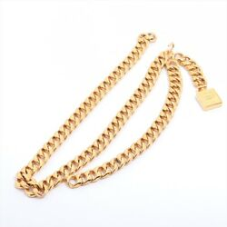 Chain Belt Gold Plated Gold Coco Perfume Bottle