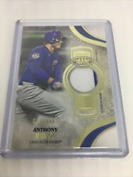 2021 Topps Tier One Baseball - Anthony Rizzo 071/299 - Game Used Memorabilia