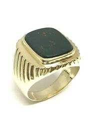 Chevaliere Man Gold 18 Gold And Black Onyx