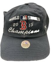 Boston Red Sox Mlb 8 Time World Series Champions '47 Franchise 2013 Ws Hat Cap