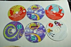 Cd Rom Catalogs - Hasbro Pre Toy Fair 2001 And Toy Fair 2000 And Mattel 2014 And 2002