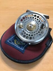 Fly Fishing Reel Daiwa Alltmor 200d With Reel Cover G3249