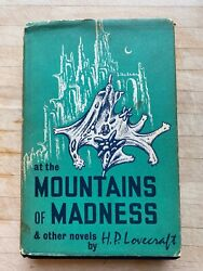 At The Mountains Of Madness H.p. Lovecraft Arkham House 1964 Good/very Good