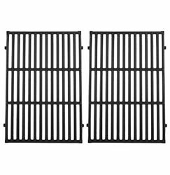 Cast Iron Cooking Grates 2-pack For Weber Genesis Ii Lx 300 66095 E-340/s-340
