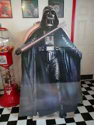 Rare Complete Set Star Wars Vader, R2d2, C3po, Chewbacca Cardboard Standees 1977