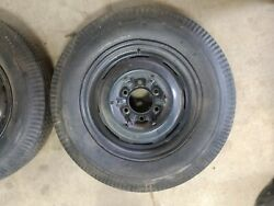 1 Vintage Chevy 16 Inch Steel Wheel 6 Bolt With Hubcap Clips 1937 1938 1939
