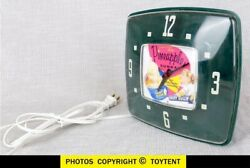 Dairy Queen Pineapple Sundae Electric Wall Clock