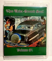 Rare Soul And Underground Oldies Usb Drive 3.0 40cds 873 Songs Lowrider Style