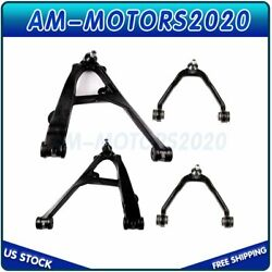 Fits 2007 Chevy Silverado 1500 Classic Steering 4 Front Upperandlower Control Arms