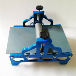 Slab Machine Roller For Clay Heavy Duty Tabletop Adjustable No Shims Premium Us