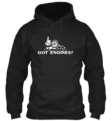Got Engines Hit And Miss Gas Engines Pullover Hoodie - Poly/cotton Blend