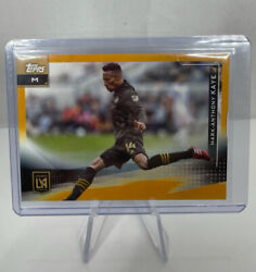 2021 Topps Mls Mark-anthony Kaye Gold Parallel 9/50 Los Angeles Fc - Fresh Pull
