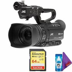 Jvc Gy-hm250sp Uhd 4k Streaming Camcorder +hd Sports Overlays + Pro Memory Card