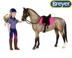 New Breyer English Horse And Rider Freedom 1:12 Scale 61114