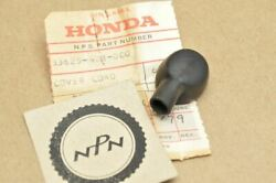 Nos Honda 1979-82 Cb125 S 1978-81 Xl250 S Turn Signal Wire Rubber Cover 33625-42