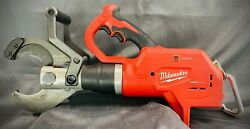 Milwaukee M18 2776-20 Force Logic 3andrdquo Underground Cable Cutter Tool Only Tested