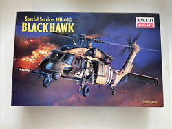 Minicraft Model Kits Blackhawk Mh-60g Special Services Helicopter 1/48 Kit 1998