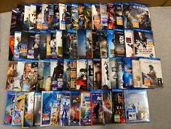 Huge Blu-ray Movie Lot 70 Action Drama Comedy Guy Movies Family Disney Awesome