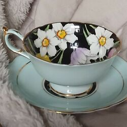Pretty Double Warrent Paragon Cup And Saucer Set