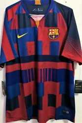 Jersey Fc Barcelona 10 Lionel Messi Season 2018 / 2019 - Autographed By Players