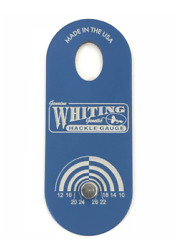 Whiting Farms W-100 Hackle Gauge - Blue