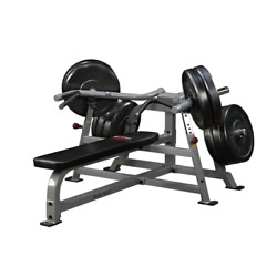 Body-solid Proclubline Olympic Plate Loaded Leverage Bench Press Lvbp