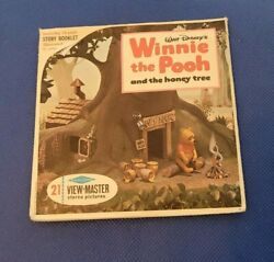 Sawyer's B362 Disney's Winnie The Pooh And The Honey Tree View-master Reels Packet