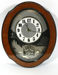 Animated Small World Rhyhm Clock My Heart Will Go On, Unchained Melody S8139