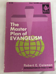 The Master Plan Of Evangelism By Robert E. Coleman Paperback 1973