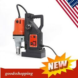 1100w Commercial Magnetic Drill Press 50mm 2700 Lbs Magnet Force