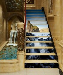 3d Stone Spa 492na Stair Risers Decoration Photo Mural Decal Wallpaper Fay