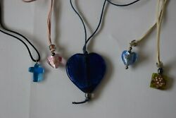 Murano And Glass Pendants Jewellery Job Lot Clear Out Old Stock By Neate Crafts