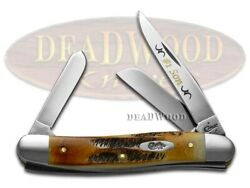 Case Xx No. 1 Son Med Stockman Knife 6.5 Bone Stag 1/500 Stainless Pocket Knives