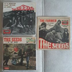The Seeds 3 Frech Ep Lot