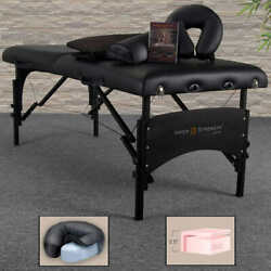 Inner Strength Pro All-in-one Massage Table By Earthlite W/ Deluxe Carry Case