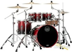 Mapex 4pc Saturn V Mh Fusion Shell Pack Scarlet Fade