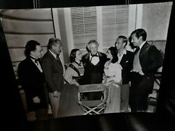 Incredible Gone With The Wind 11x14 Photo Behind Scenes Gable Leigh +