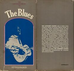 P. Guralnick - T. Listeners Guide To The Blues Signed By David Honeyboy Edwards
