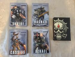 Space Marine Legends Limited Edition Full Collection Set 5 Books Warhammer 40k