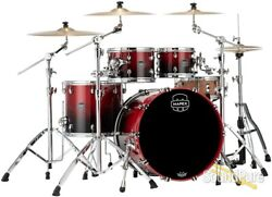 Mapex 4pc Saturn V Mh Rock Shell Pack Scarlet Fade